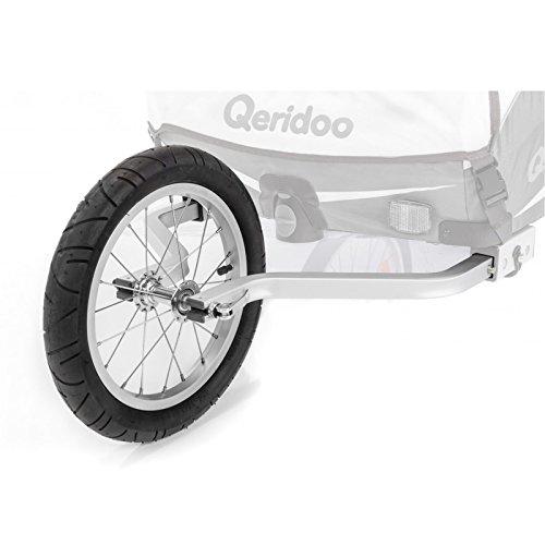 Qeridoo Joggerrad mit Gabelsystem für Zweisitzer 2017