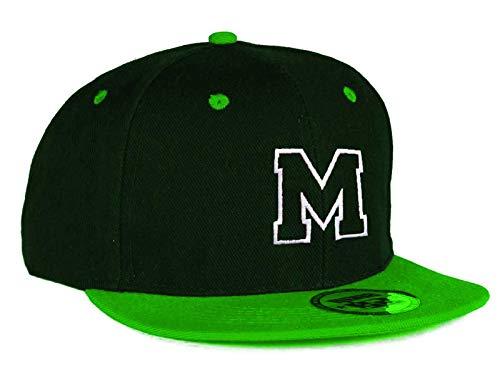 MFAZ Morefaz Ltd Jugend Baseball Kappe Kinder Mütze Basecap Mädchen Junge Twill Snapback (M)