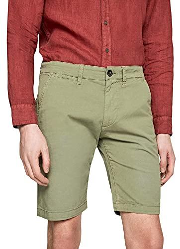 Pepe Jeans Herren Mc Queen Short Badeshorts, Grün (Dark Olive 768), W31 (Herstellergröße: 31)
