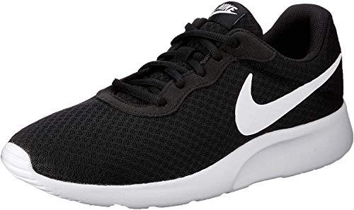 Nike Herren Tanjun Sneaker Laufschuhe, Schwarz (011 Black/White), 43 EU
