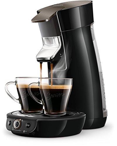 Philips Senseo HD6564/60 Viva Café Kaffeepadmaschine, 1450, schwarz