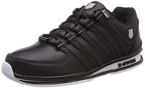 K-Swiss Herren Rinzler SP Sneaker, Schwarz (Black/Black/White 044), 42 EU
