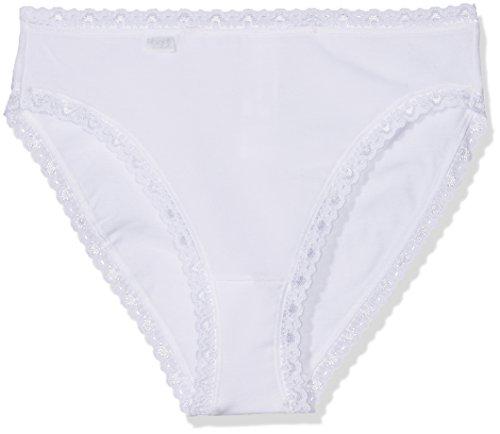 Sloggi Damen Slip 3er Pack, 24/7 CotLac TAC3, Gr. 48, Weiß (WHITE 03)