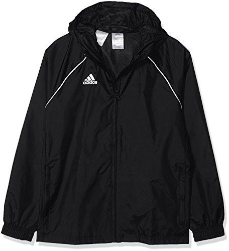 adidas Kinder Core18 RN Jkt Y Jacke, schwarz/weiß, 176