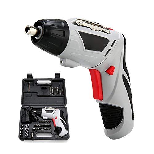 RSGK 4,8 V Akku-Elektroschrauber, wiederaufladbare Multifunktionshandbohrmaschine, geeignet für Heimtextilien, Gardinenstangen, fest installierte elektronische Geräte usw.