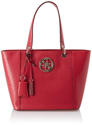 Guess Damen Kamryn Tote, Rot Red, 42x26.5x15 centimeters