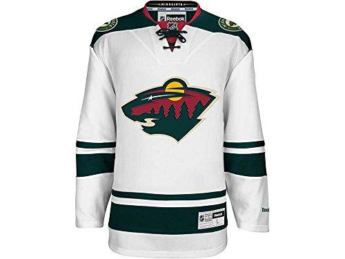 Reebok NHL Eishockey Trikot Jersey Premier Minnesota Wild weiß blank (XXL)