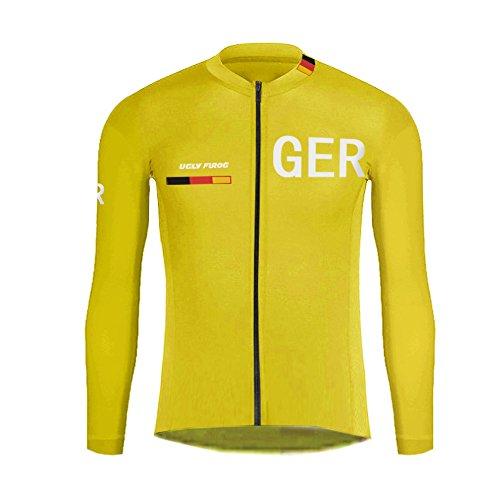 Uglyfrog UFST03 Neu Herren Radsport Rennrad Trikot Sportbekleidung für Radsport Kleidung Winter Thermal Fleece Warm Fahrradjacke