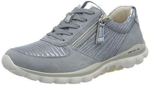 Gabor Shoes Damen Rollingsoft Sneaker, Blau (Cielo/Azur 83), 38 EU