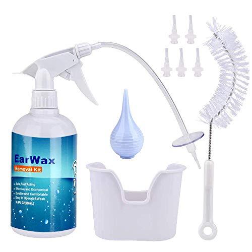 Ohrenschmalz-Entfernungs kit, sicherer,effektiver Ohrenreiniger für Erwachsene&Kinder, Reinigung des Ohrenschmalzes und Linderung von verstopften/juckenden Ohren/Ohrenschmerzen,Verbesserung des Gehörs