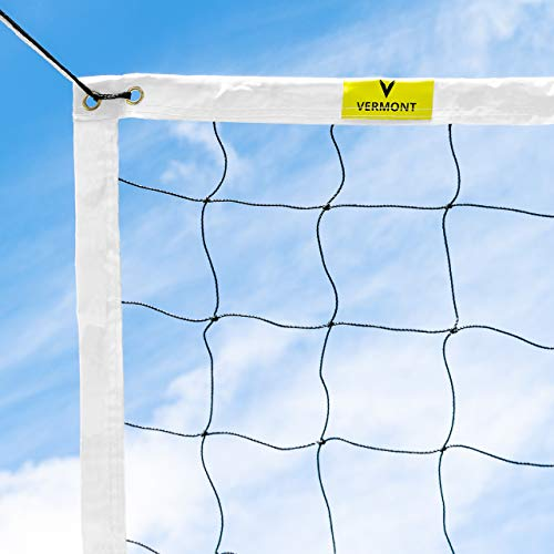 Vermont Regelung Volleyballnetz (Kordel-Headline)
