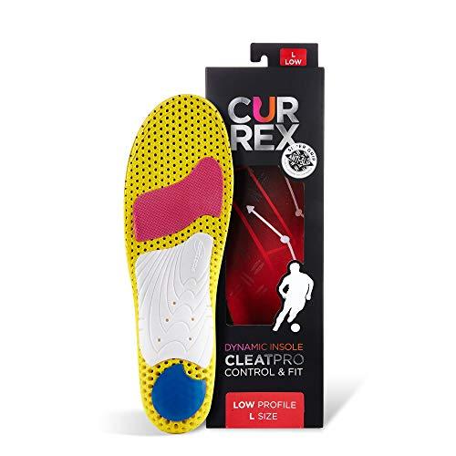 CURREX CleatPro Sohle Low Profile. Deine neue Dimension des Fußballs. Performance Einlegesohle für Fußball- oder Stollen-Schuhe. Gr EU 39,5-41,5
