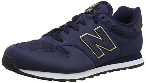 New Balance Damen 500 Sneaker, Blau (Navy), 43 EU