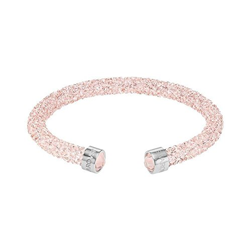 Swarovski Damen-Armreif Kristall pink 5.1 cm - 5292444
