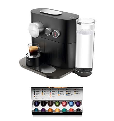 Krups Nespresso XN6008 Kapselmaschine Expert, Thermoblock-Heizsystem, 19 Bar, schwarz