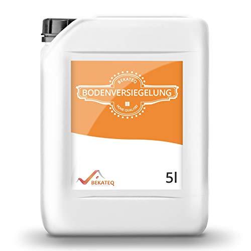 BEKATEQ Bodenversiegelung seidenmatt BK-250V für CV, PVC, Gummi, Linoleum, Epoxidharzboden - 5L