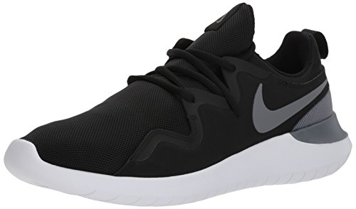Nike Herren Herrren Sneaker Tessen Laufschuhe, Mehrfarbig (Black/Cool Grey/White 001), 45 EU