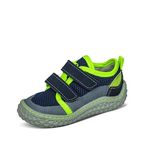 Ricosta Jungen 71-1720200 Peppi Lauflernschuhe Baby Kinder Mehrfarbig flexibel, Groesse 22, marine/grün