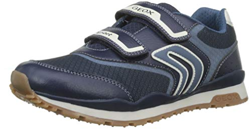 Geox Jungen J Pavel a Sneaker, Blau (Navy/Avio C0700), 30 EU