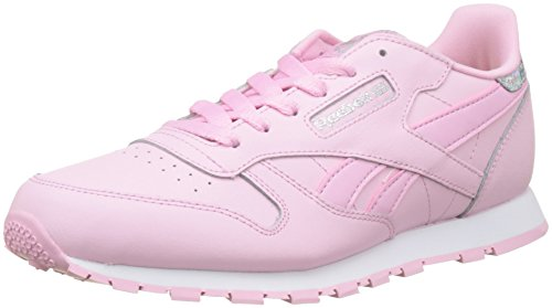 Reebok Mädchen Classic Leather Pastel Laufschuhe, Pink (Charming Pink/White), 27 EU