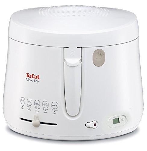Tefal FF1001 Maxi Fry / 1.900 Watt / Timer / wärmeisoliert/ 1,2 kg Fassungsvermögen / weiß
