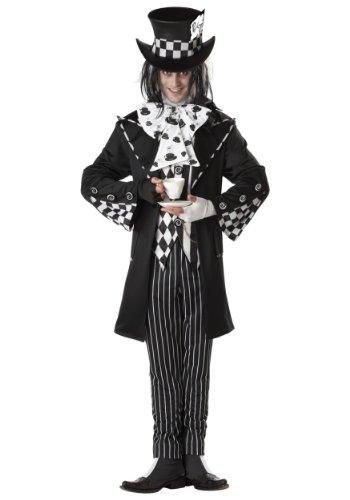 California Costumes Joker Kostüm, Dark Mad Hatter 01101 (Medium)