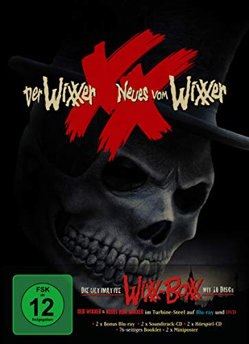Die ultimative WiXX-BoXX - limitierte 10-Disc-Edition (4x BDs, 4x CDs, 2x DVDs) [Blu-ray]
