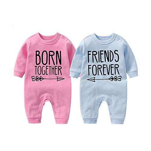 culbutomind Beste Freunde Für Immer Fun Baby-Strampler Baby Geschenke Geburt Erstausstattung(PB 0-3 Months)