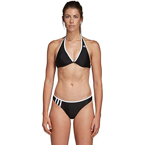 adidas Damen 3-Streifen NH Bikini, Black/White, 36