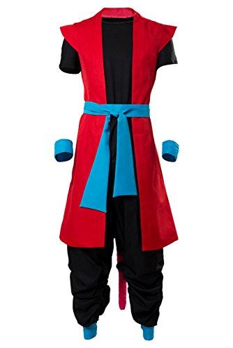 Karnestore Son Goku Zeno Outfit Super Dragon Ball Heroes: Universe Mission Cosplay Kostüm Maßanfertigung