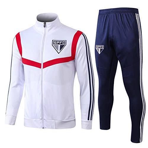 Fußball Anzug Jacke Paris Aussehen Anzug Porto Lyon Feyeno De Flamenco Herbst Und Winter Trainingsanzug Set 19~20 Saint Paul White