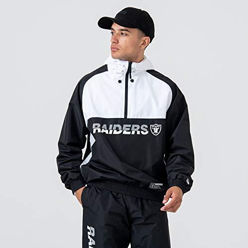 New Era Herren Oakland Raiders Windjacke, Black, L