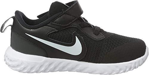 Nike Unisex-Child Revolution 5 (PSV) Running Shoe, Black/White-Anthracite, 34 EU