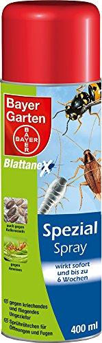 PROTECT HOME Forminex Spezial Spray gegen kriechendes + fliegendes Ungeziefer (ehem. Bayer Garten Blattanex), 400 ml