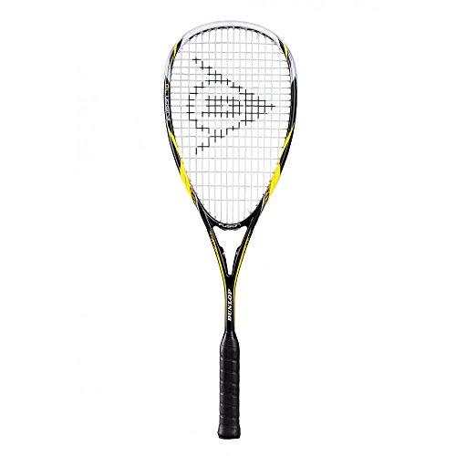 Dunlop Racket D SR Fusion, Schwarz/Gelb/Weiss, One Size