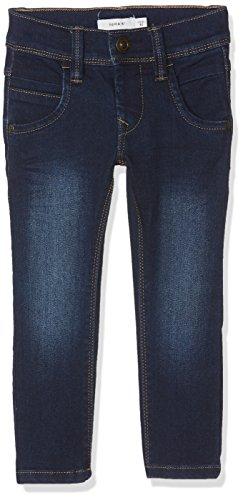 NAME IT Jungen NITTAX Slim/XSL DNM Pant NMT NOOS Jeans, Blau (Dark Blue Denim), 110