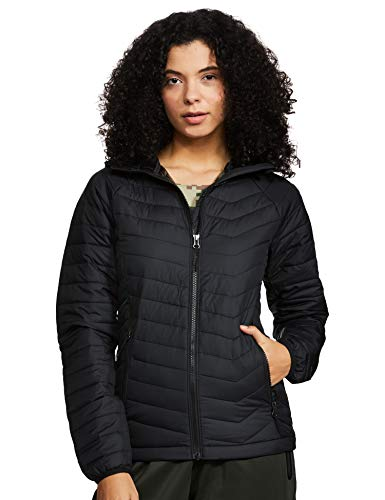 Columbia Powder Lite Kapuzenjacke für Damen, Schwarz (Black), XL