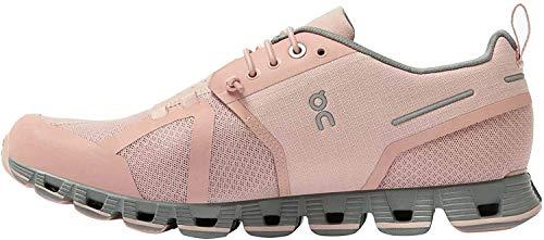 On Running W Cloud Waterproof Pink, Damen Laufschuh, Größe EU 39 - Farbe Rose - Lunar