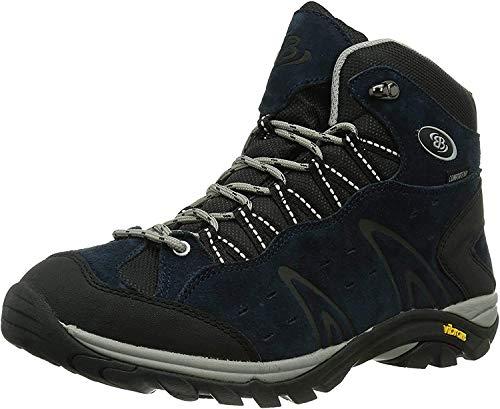 Brütting Unisex - Erwachsene Sport- und Outdoorschuhe Mount Bona High,Outdoor Schuhe,lose Einlage,wasserdicht,atmungsaktiv, Maenner,Marine,43 EU