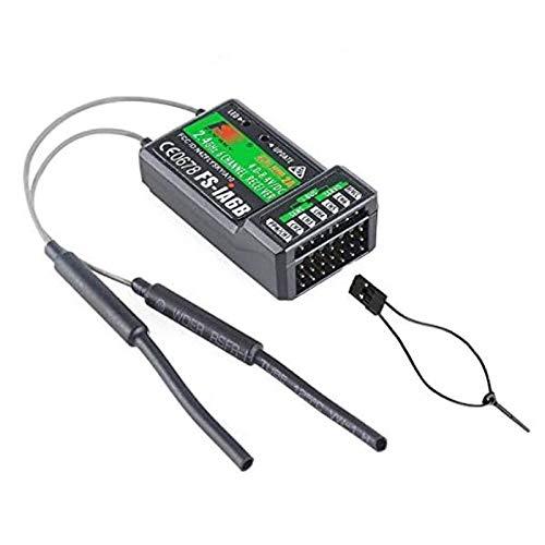 Tmalltide Flysky FS-iA6B Empfänger 6Kanal PPM Output mit iBus Port 2.4GHz RC Empfänger Receiver Compatible FS-i4 FS-i6 FS-i10 FS-GT2E FS-GT2G