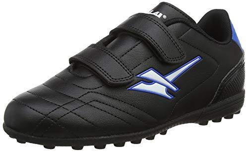 Gola Gola Magnaz Vx Twin Bar, Jungen Fußballschuhe, Schwarz (Black/Blue Blue), 32 EU (13 UK)
