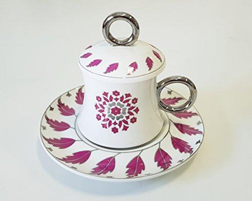 Korkmaz A8638 Freedom Bone Porcelan Türk Kahve takimi Mokka set Cofee cup 12 tlg