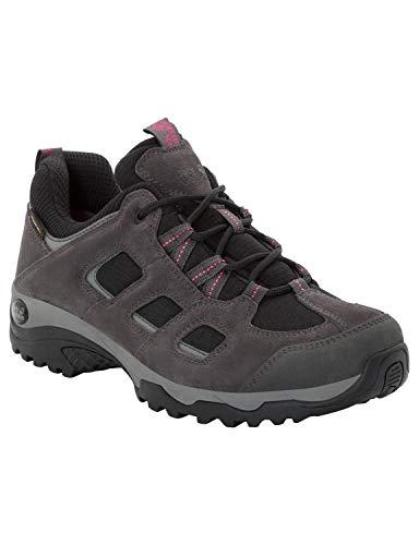Jack Wolfskin Damen Vojo Hike 2 Texapore Low W Wasserdicht Trekking-& Wanderhalbschuhe, Grau (Dark Steel/ Black 6059), 41 EU