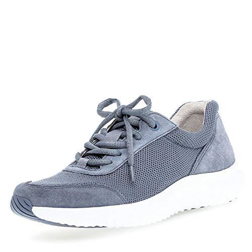 Gabor Comfort Damen Rollingsoft Sneaker Sneaker Größe 37.5 EU Blau (blau)