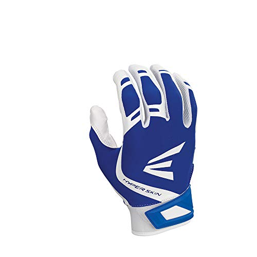 Easton ZF7 VRS hyperskin Fastpitch Batting Handschuhe, Herren, Easton Zf7vrs Fastpitch Batting Glove Wh/Ry M, Weiß / Königsblau