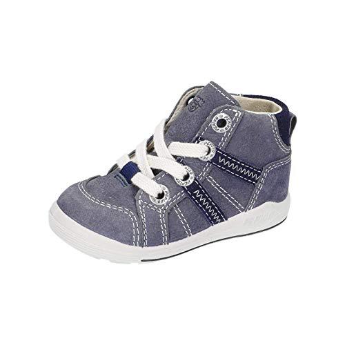 RICOSTA Kinder Lauflern Schuhe Danny von Pepino, Weite: Mittel (WMS),terracare, schnürschuh schnürstiefelchen flexibel leicht,See,21 EU / 5 Child UK