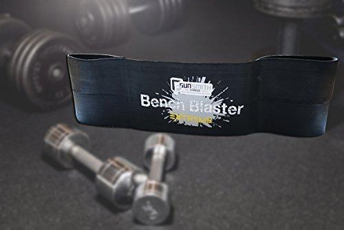 Gunsmith Fitness Bench Blaster Extreme – Hebegurt Crossfit, Gewichtheben Kraftdreikampf Bankdrücken Stronglifts Gewichtetraining Krafttraining