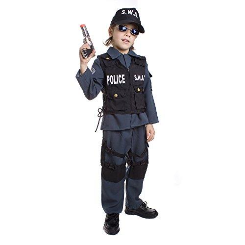 Dress Up America Kinder Deluxe S.W.A.T. Offizierskostüm