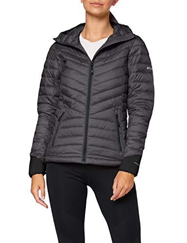 Columbia Windgates Kapuzen-Damenjacke, Grau (Shark Heather), M