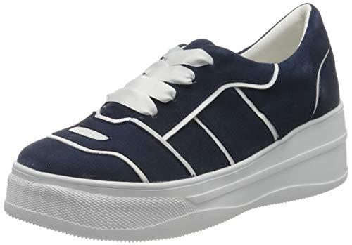 Gerry Weber Shoes Damen Mont Pellier 03 Sneaker, Mehrfarbig (Dunkelblau-Kombi 506), 38 EU